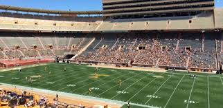 Tennessee Football Club Seating At Neyland Stadium