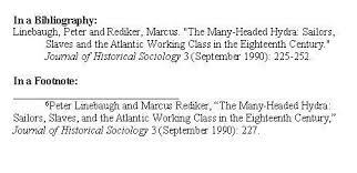 turabian paper style guide notice how the author s changes from the footnote to the bibliography