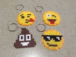 Emoji Perler Bead Patterns Impressive Emoji Perler Bead Sprites Etsy