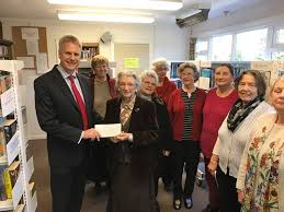 Edna Johnson trust helps Little Common Library