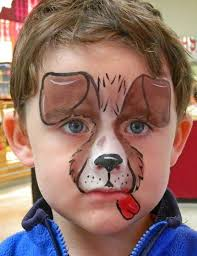 quick easy dog facepaint facepainting face painting ideas for kids