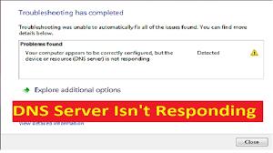 How To Fix DNS Server Windows 10 Error-Simple Guide