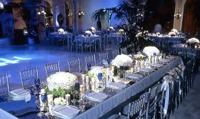 navy blue and silver wedding ideas