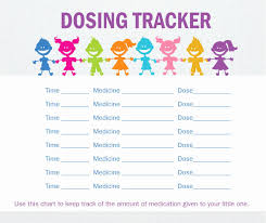 Toddler Medicine Dosage Chart 15 Veracious Infant Medicine Chart