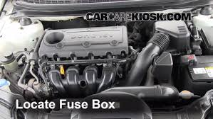 blown fuse check kia forte kia forte ex l  blown fuse check 2010 2013 kia forte 2010 kia forte ex 2 0l 4 cyl sedan 4 door