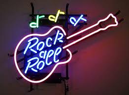 photography neon guitar neon sign