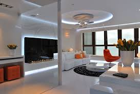 modern lighting living room. Wooden Bulkhead With Modern Lighting Living Room Contemporary And Coffee Nook