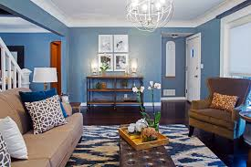 Paint For Living Room With Accent Wall Living Room Walls Painted Blue Yes Yes Go
