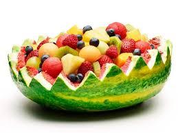 watermelon fruit salad bowl. Delighful Watermelon Watermelon Fruit Basket Cake Recipe  Food Network Kitchen With Salad Bowl A