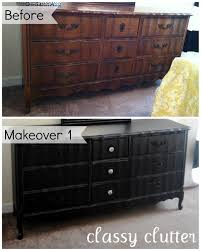 chalk paint bedroom furnitureDIY Chalk Paint Recipe and a Dresser Makeover  Classy Clutter