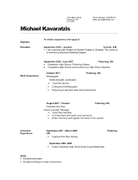 Stunning High School Diploma On Resume For Good Objective For With