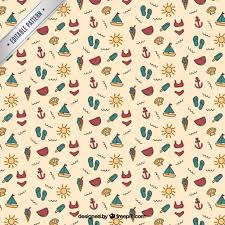 Summer Pattern Stunning Summer Pattern Vector Free Download