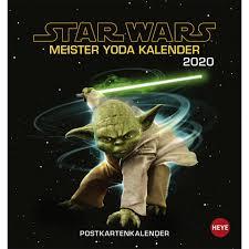 Star Wars Meister Yodas Weisheiten Postkartenkalender 2020