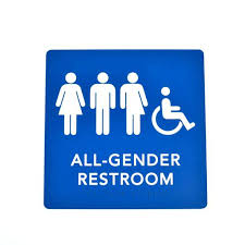 school bathroom sign. Interesting Bathroom Gender Neutral Bathroom Signs All Compliant Braille Restroom  With Tactile Text   Intended School Bathroom Sign