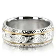 unique wedding bands rings his hers styles 25karats com