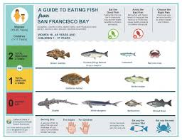 California Rockfish Chart Safe To Eat Fish From The San Francisco Bay San Mateo