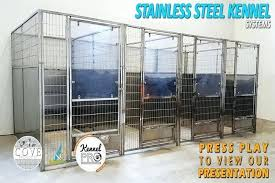 metal dog kennel 4 x 4 multiple stainless steel no back dog kennels starting outdoor dog