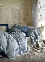 light grey stonewashed luxurious linen duvet cover quilt cover doona cover by house of baltic linen