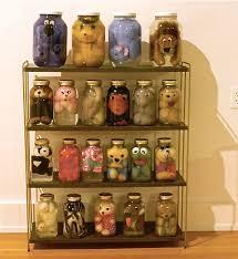 Preserved stuffed animals.