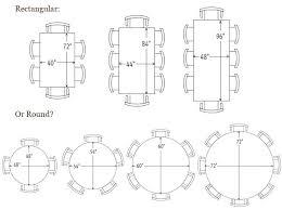 round table size for 8 round table size for 6 improbable interior design 8 table size