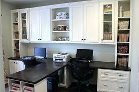 dual desk bookshelf small. Dual Desk Home Office Crafts Intended For Contemporary House Bookshelf Small R