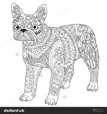 Dog Breeds High Detail Patterned French