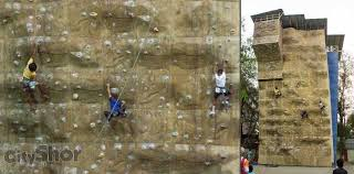 on rock climbing artificial wall with raje shivaji artificial rock climbing wall