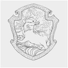 Gryffindor Crest Coloring Page New Ravenclaw House Crest Coloring