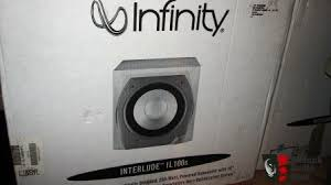 infinity il40. infinity il40 speakers, il100s subwoofer new condition il40 p