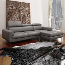 Hervorragend Sofa Bilder Wohnlandschaft Scot Echt Leder Grau