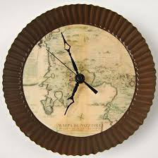 Diy Clock Make Your Own Clock With An Antique Map Theme