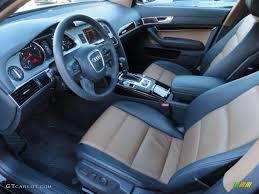 Amaretto/Black Interior 2009 Audi A6 3.0T quattro Sedan Photo ...