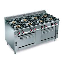 Commercial gas range Commercial Style Gas Range Cooker Commercial Stainless Steel Cast Iron Archiexpo Commercial Kitchenscommercial Gas Stoves All Architecture And