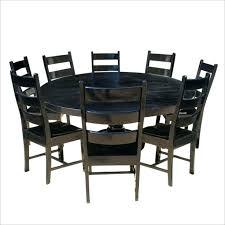 black solid wood dining set black and wood dining table rustic solid wood black round dining