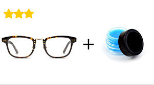 how to remove eyeglasse scratches with special wax
