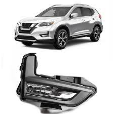 Magic Colorm Front Bumper Driving Spot Light Fog Lamp For Nissan Rogue X Trail 2017 2018 With Bracket Wires Switch