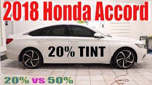 20 window tint. Beautiful Window Tinting A 2018 Honda Accord In 20 Window Tint And 20 Window Tint 4