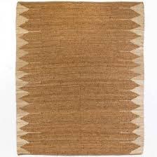 cream bordered natural jute rug 5x8