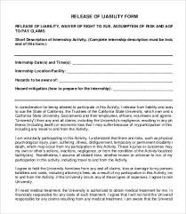 Release Of Liability Form Template 40 Free Sample Example Format Mesmerizing Liability Waiver Template Word
