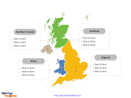 Free Interactive Maps For Powerpoint Free United Kingdom Map Free Powerpoint Templates