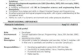 Experienced Software Engineer Resumes Resume Format For 6 Months Experienced Software Engineer