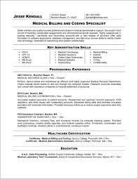 Entry Level Medical Resume Entry Level Medical Coding And Billing Resume Samples Resume 10