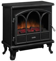 com duraflame dfs 750 1 pendleton electric stove heater black home kitchen