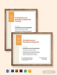 15 Free Training Certificate Templates Word Psd
