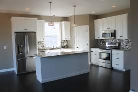 Kitchen Corner Pantry Cabinet 5322 White Kitchen With Large Center Island Kitchen Layout L