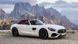 2018 bmw amg. beautiful amg 2018 mercedesamg gt roadster color designo diamond white bright  front with bmw amg