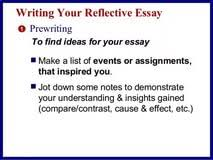 reflective essay topics list fairy tale border writing paper reflective essay topics list