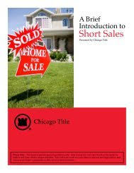 Foreclosures Multi-View - Chicago Title