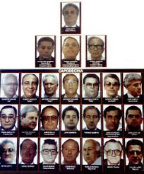 Details About John Gotti 8x10 Photo Mafia Organized Crime Family Chart Mobster Mob Picture