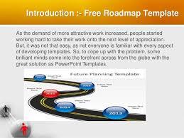 Download Free Roadmap Template